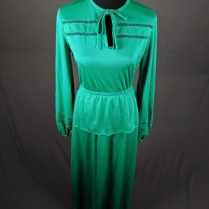 VTG Verona green dress (B19)